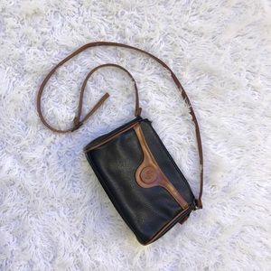 VINTAGE Michael Stevens Leather Crossbody Bag